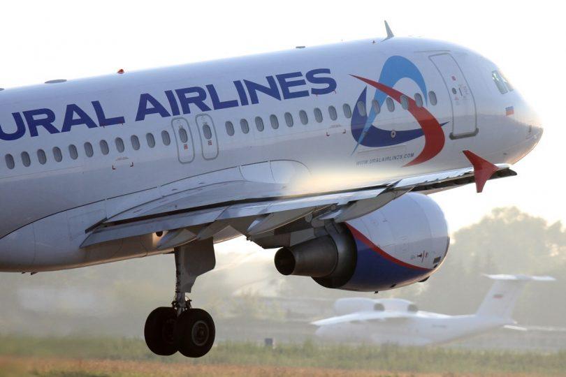ural airlines, уральские авиалинии