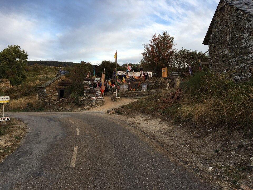 аутентичный альберге на пути к Crus de Ferro