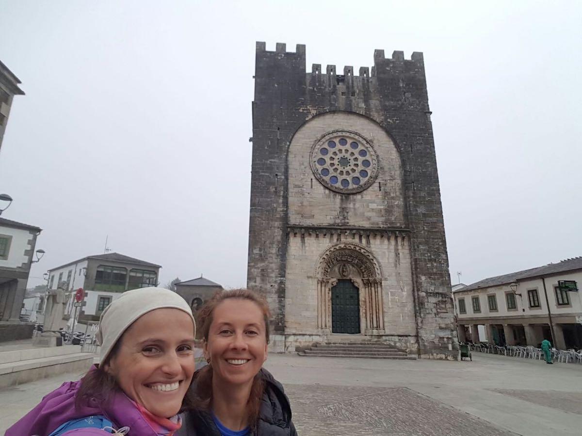 встреча с Симоне в Портомарин