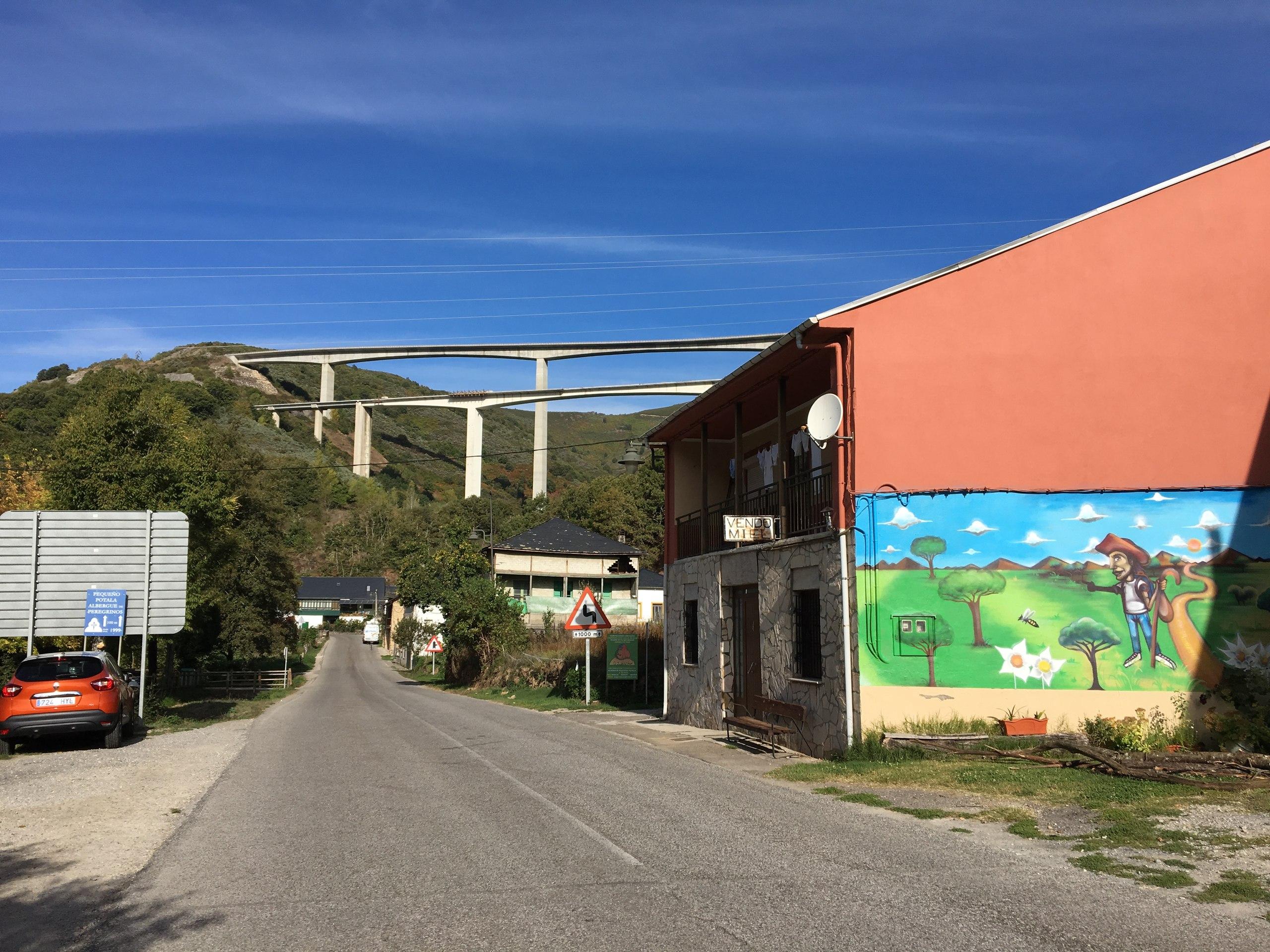 путь в Вега-де-Валькарсе