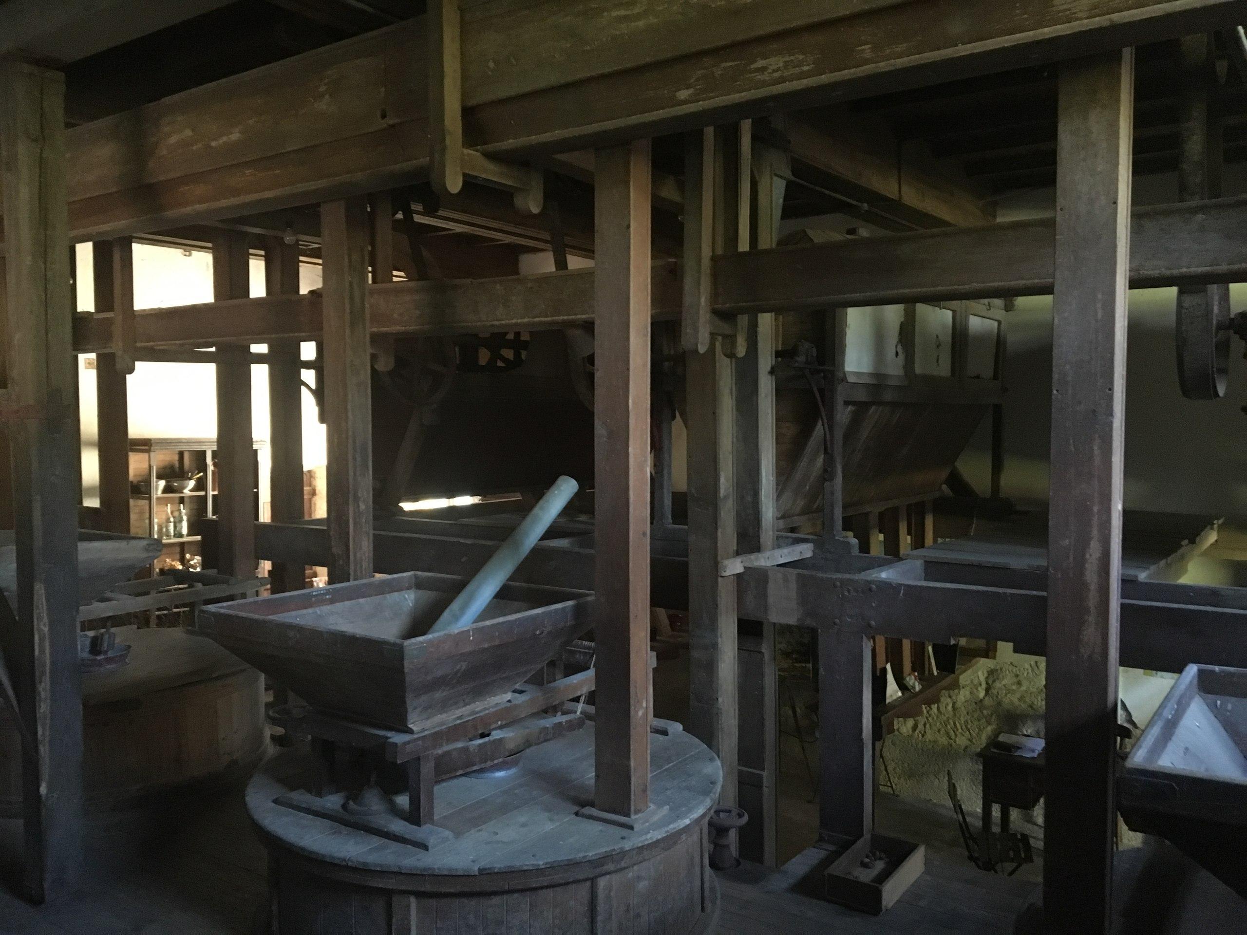 мельница изнутри