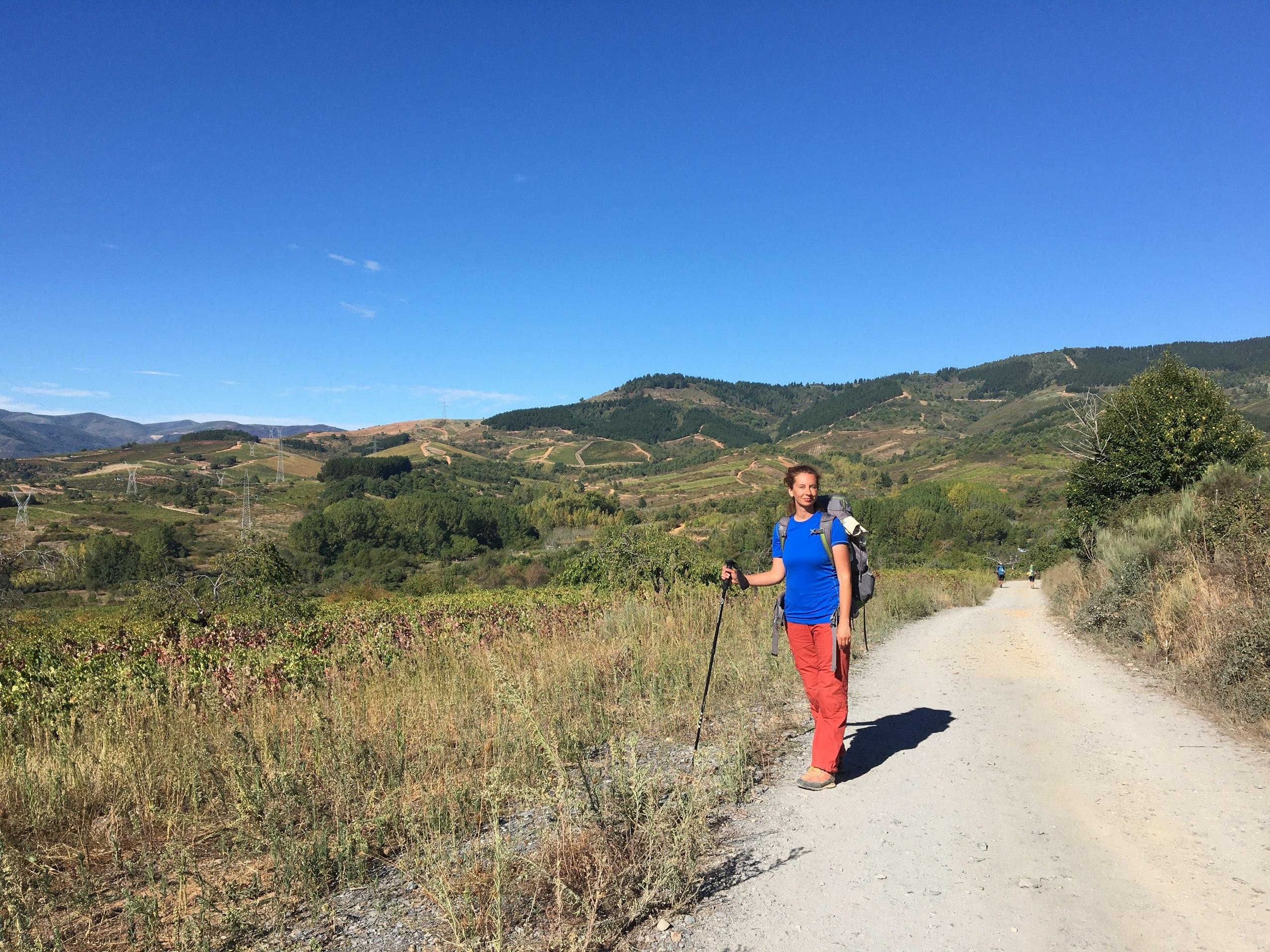 дорога в Вильяфранка-дель-Бьерсо