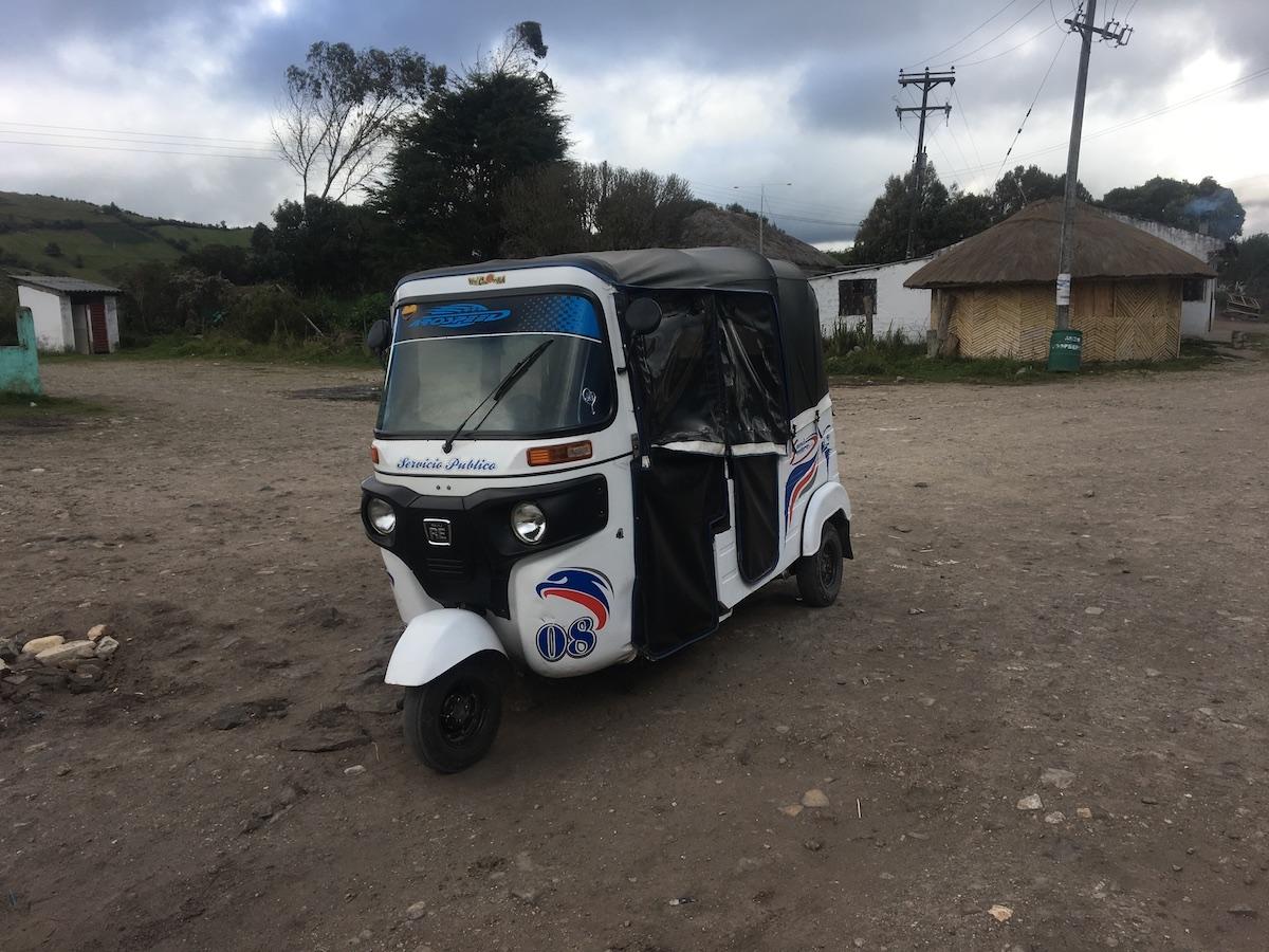 мототакси в Колумбии