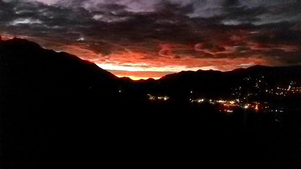 закат в вилькабамба