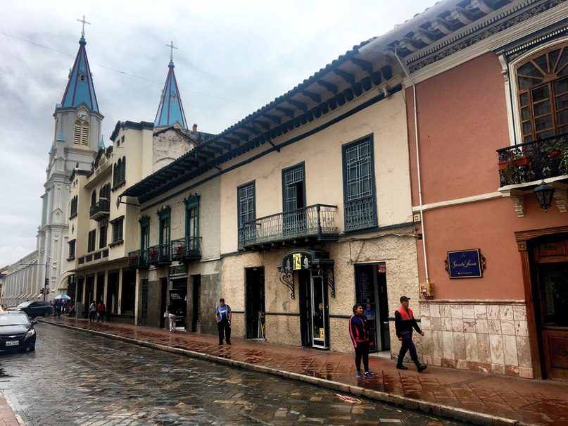 улочки в куэнка эквадор