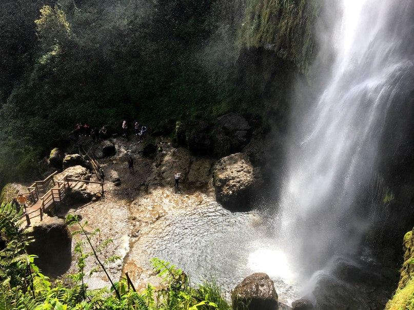 водопады в эквадоре