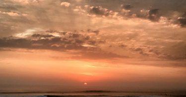 Закат в Уанчако