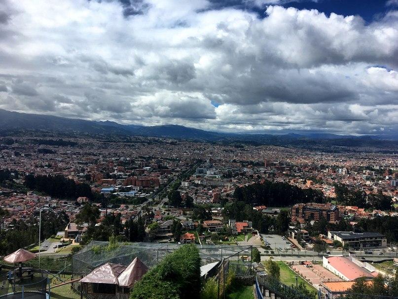 вид со смотровой площадки Turi на город