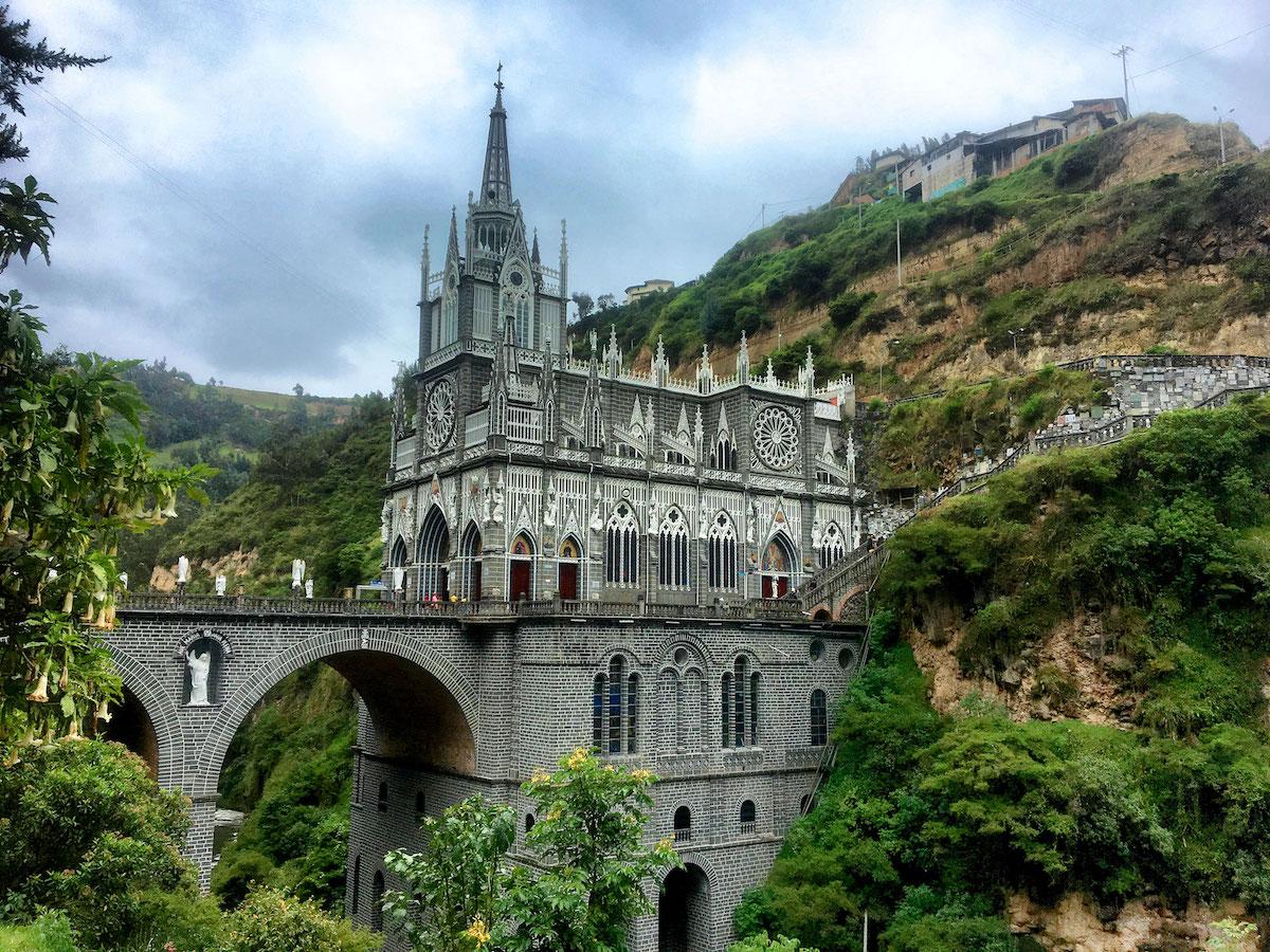 Церковь Лас Лахас ипиалес колумбия