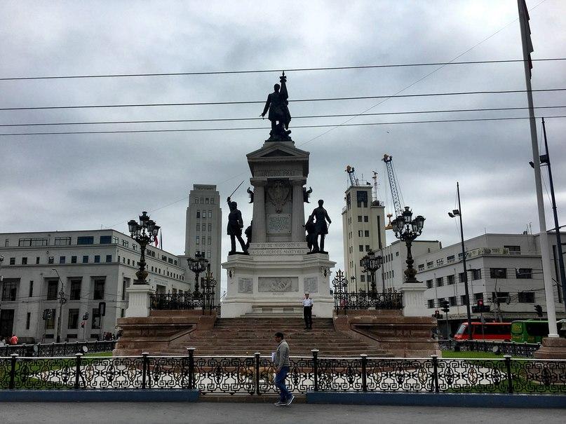 Monumento a los Heroes de Iquique Valparaiso