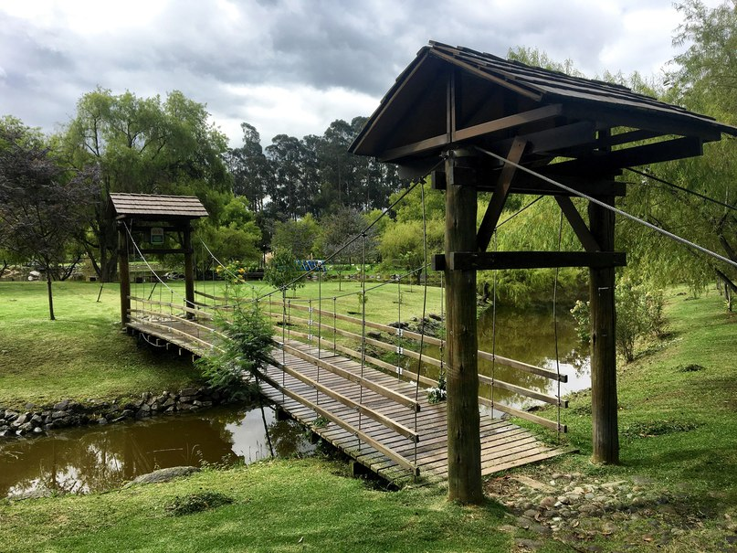 парк El Paraiso в куэнка