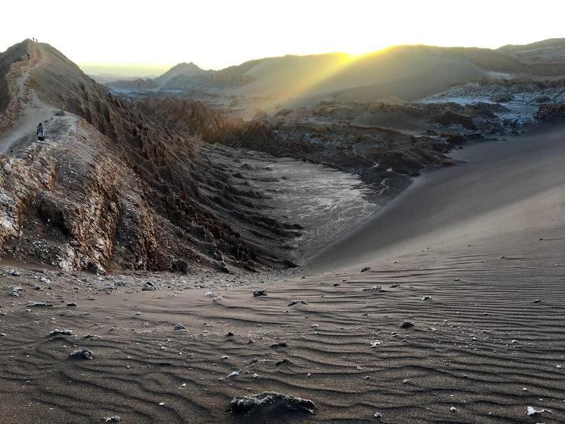 Valle de La Luna (Лунная Долина) в Сан-Педро-де-Атакама