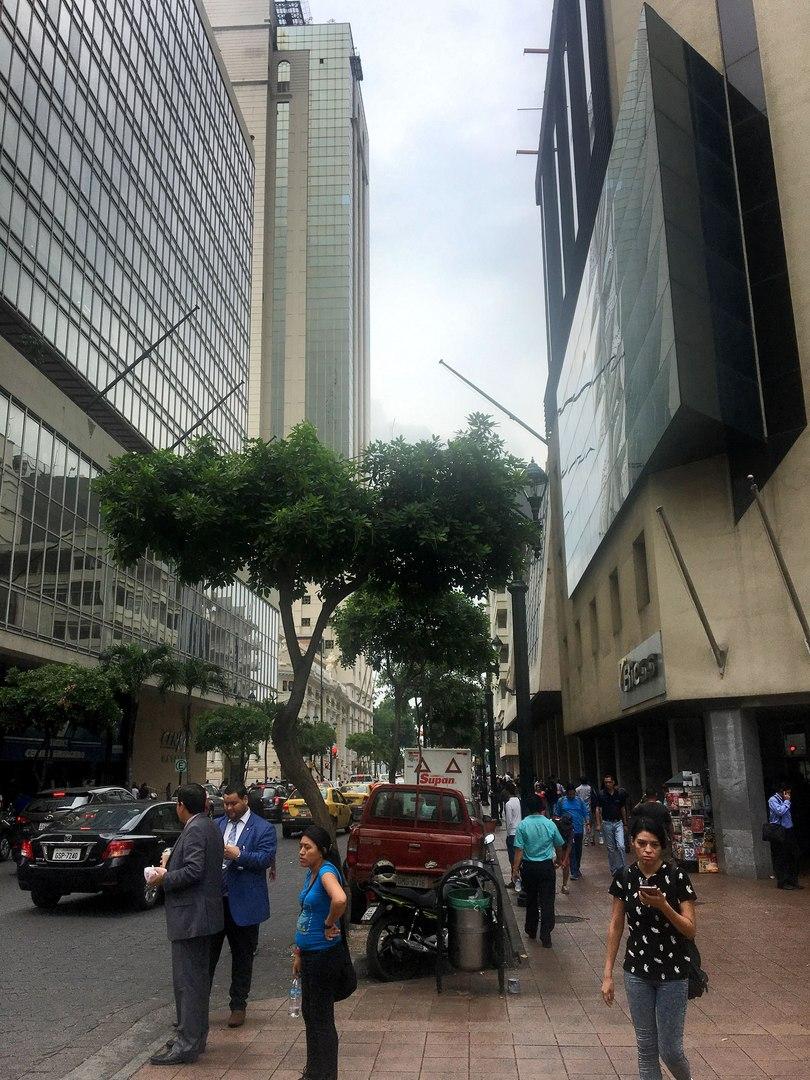 улицы центра Гуаякиль