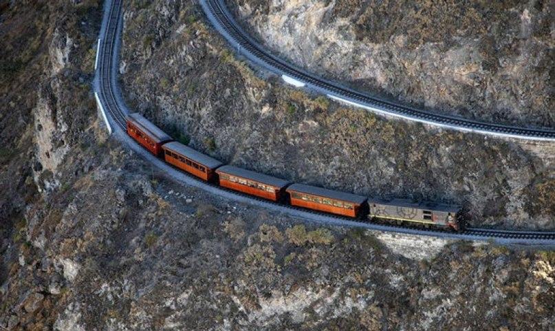 эелезная дорога в эквадоре