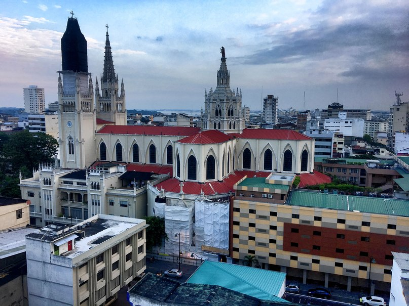Catedral Metropolitana вид сверху