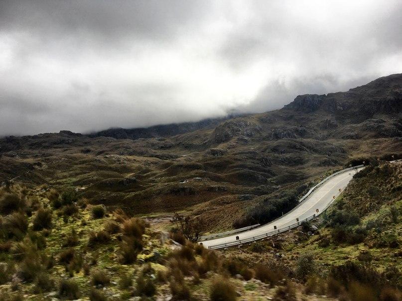 виды по пути из Куэнки в Гуаякиль