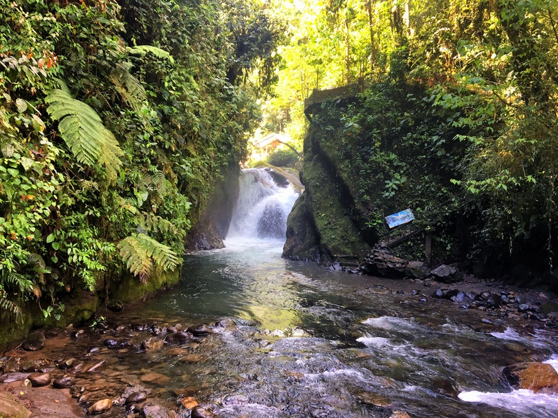 водопад эквадор