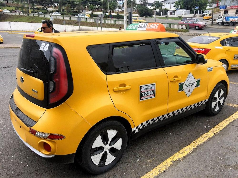 Эко такси KIA в городе Лоха