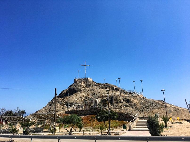 холм с крестом
