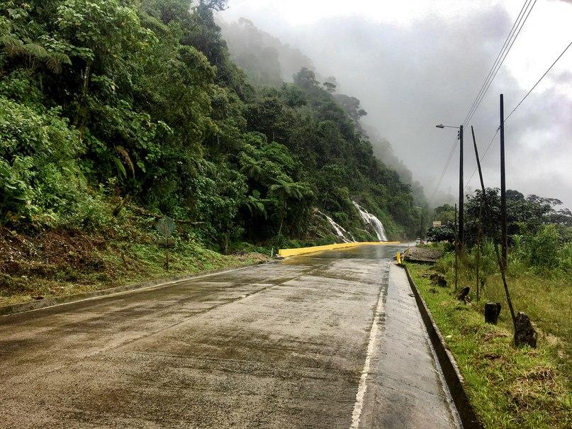 водопад Velo de Novia
