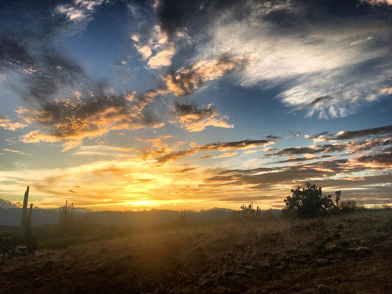 закат в пустыне Татакоа