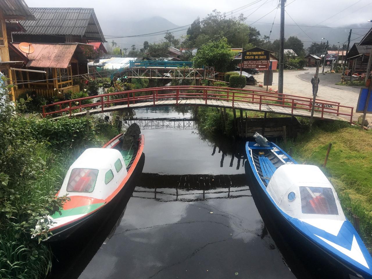 озеро Ла Коча laguna la cocha