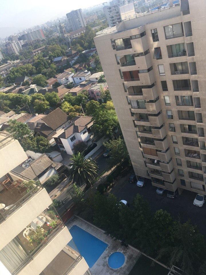 бассейн в апартаментах Сантьяго