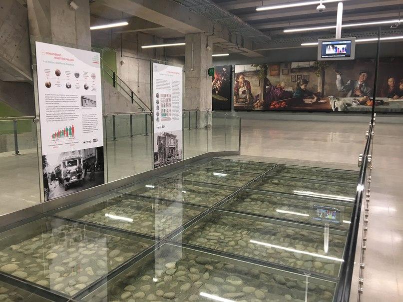 вестибюль в метро Сантьяго