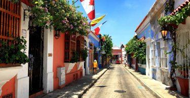 улочки Картахены
