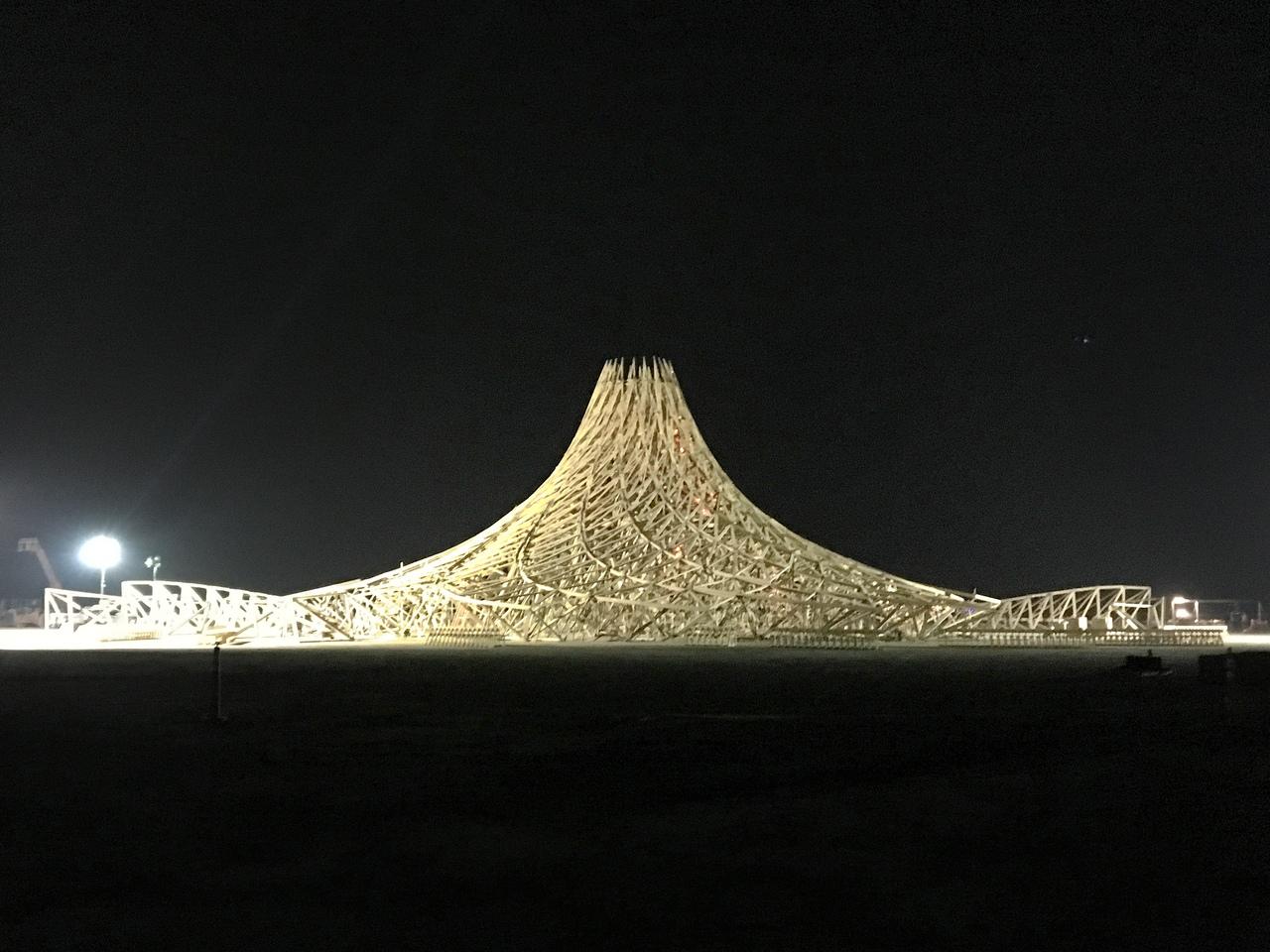 Храм в процессе постройки