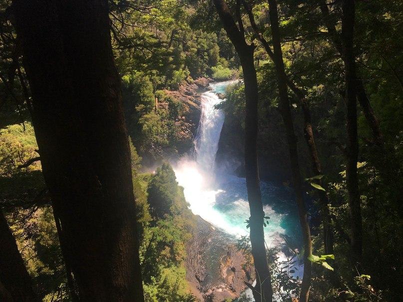 водопад el Puma