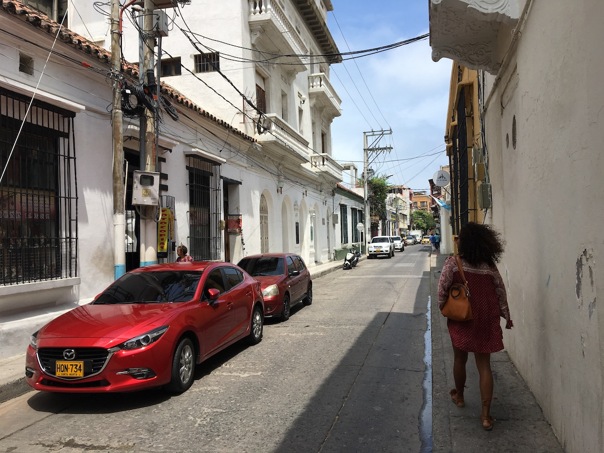 улочка Санта-Марты