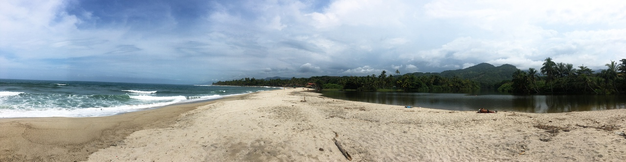 Playa Grande. колумбия colombia
