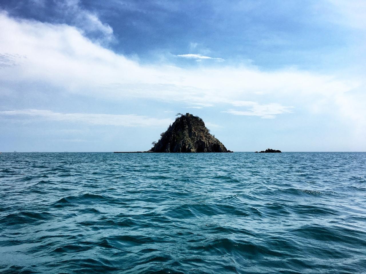 виды с лодки по пути к Playa Blanca
