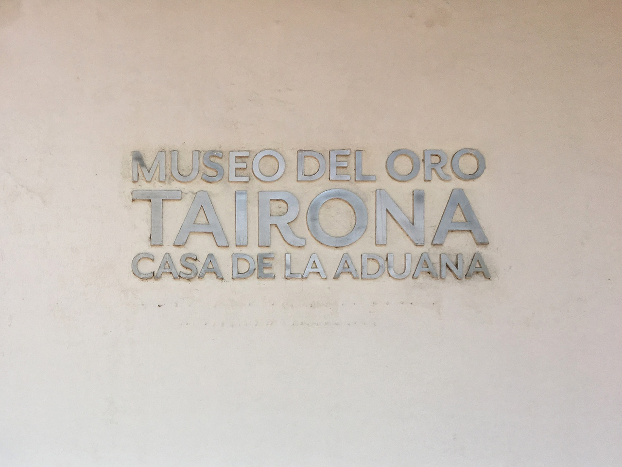 музей золота, Санта Марта, Колумбия