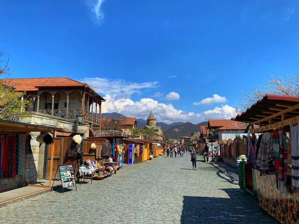 Улочка городка Мцхета