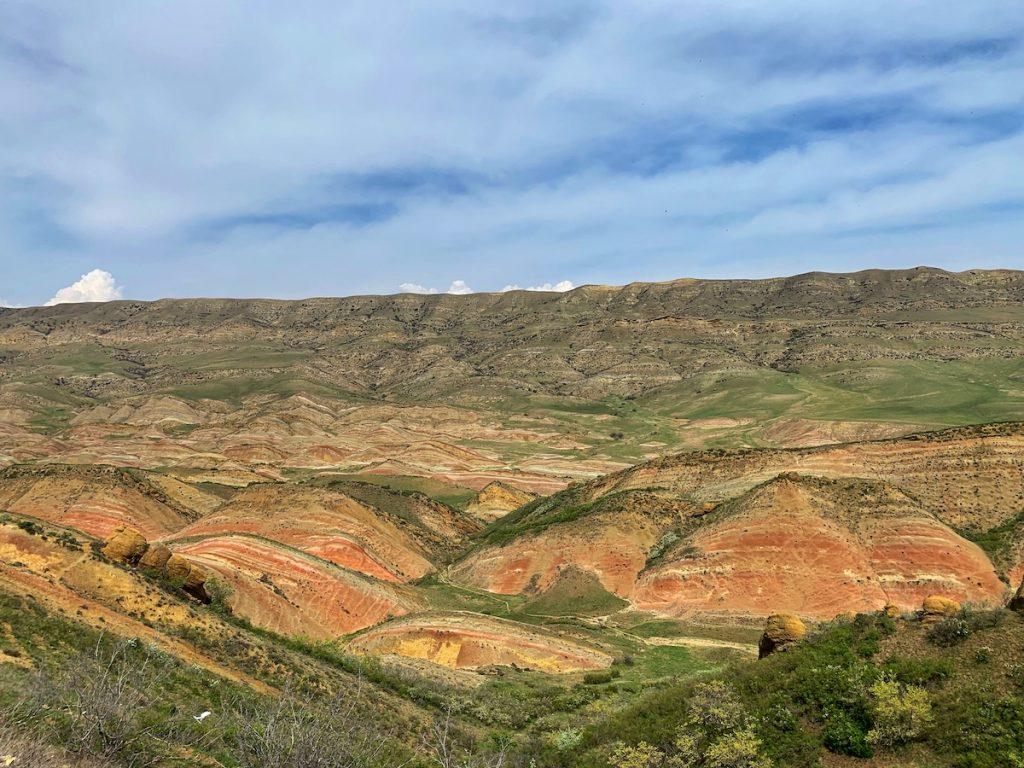 горный ландшафт у давид гареджи