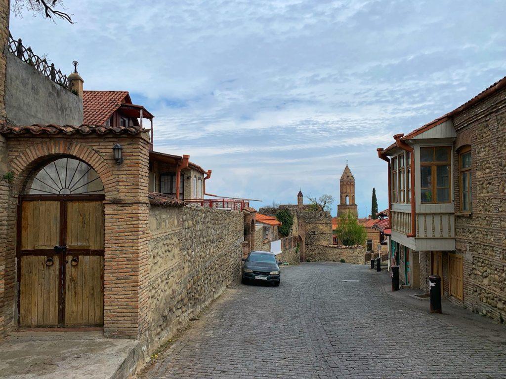 улочки сигнахи грузия