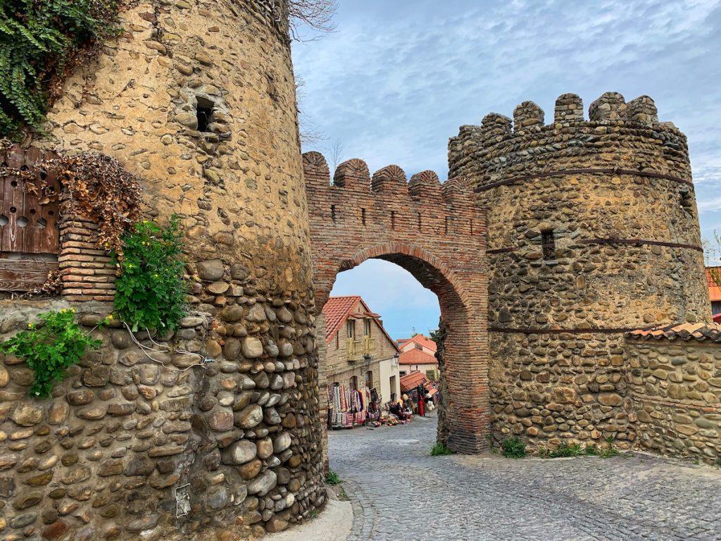 Крепостные ворота. Сигнахи