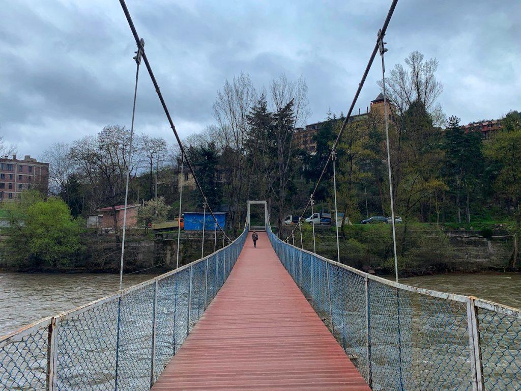 Мост через Куру в городе Боржоми