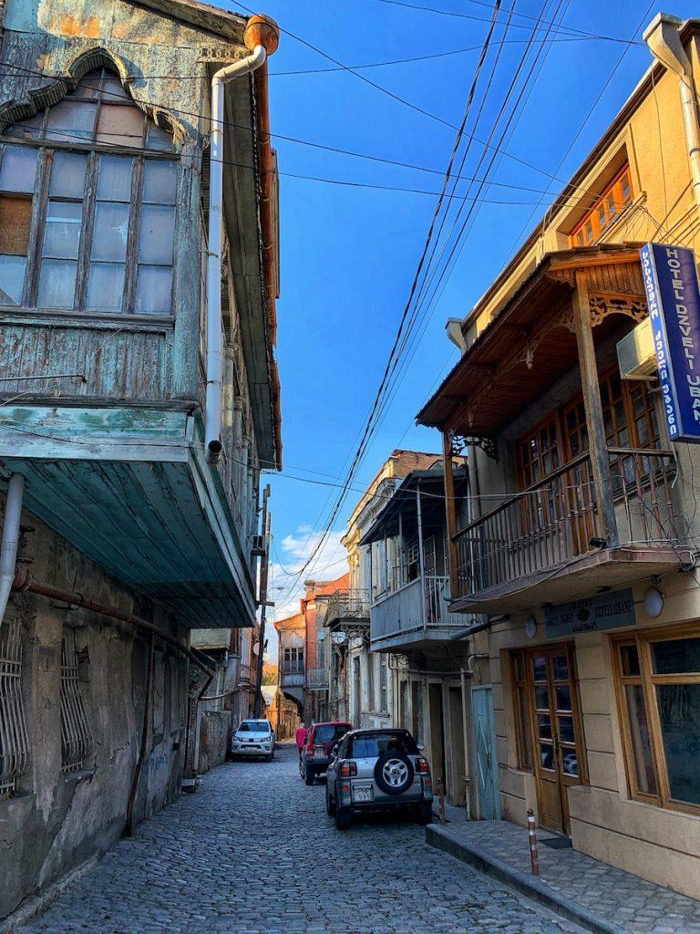 улочки Тбилиси