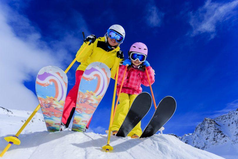горные лыжи, горнолыжный курорт