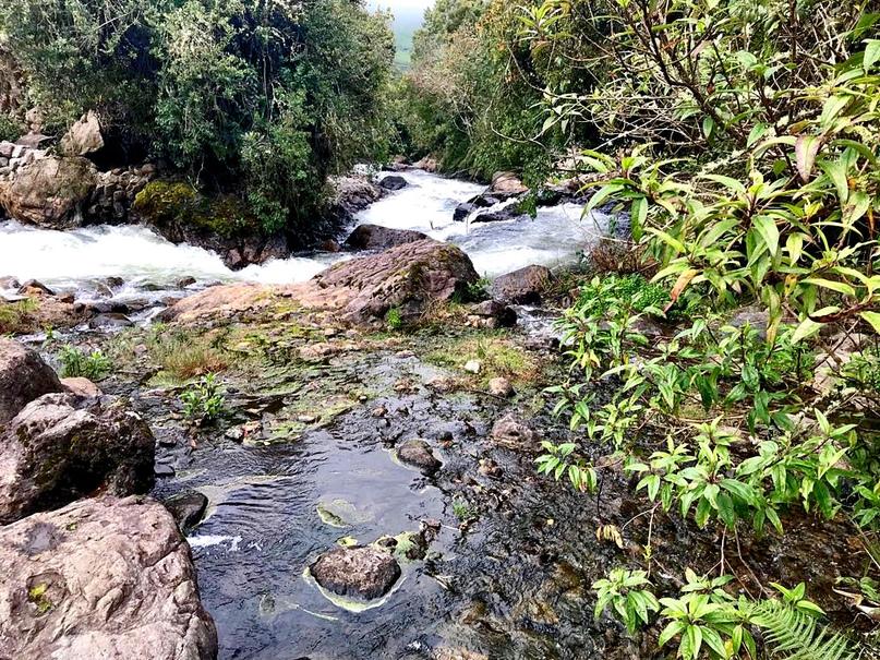 путь к водопаду Магика