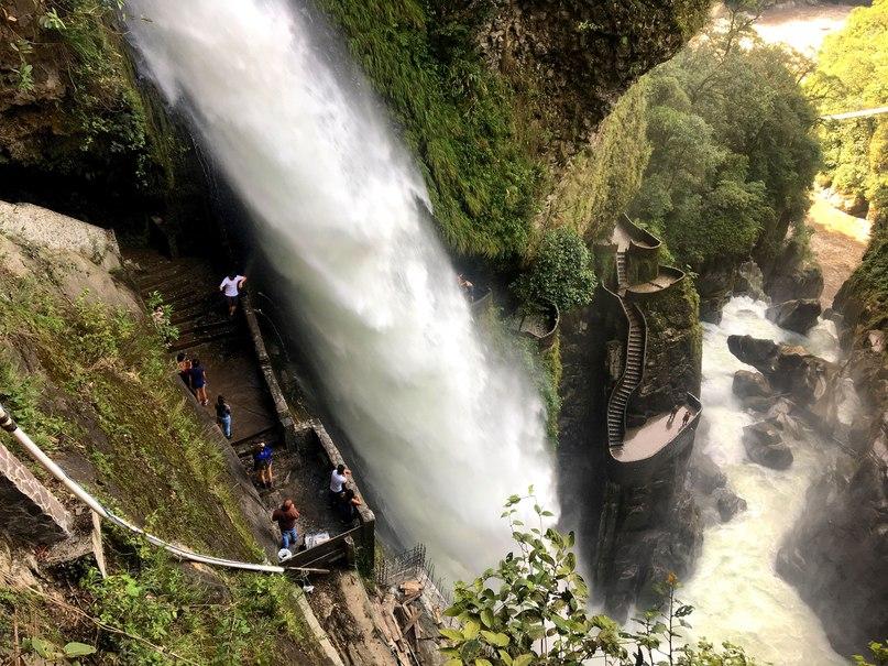водопад Pailón del diablo