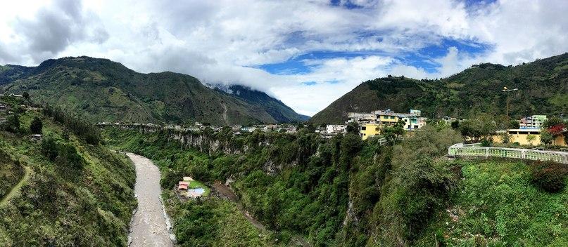 Ojos del volcán Tungurahua