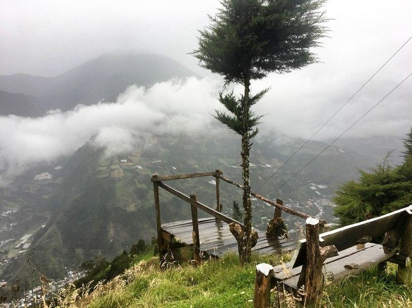 Mirador Ojos del volcán Tungurahua