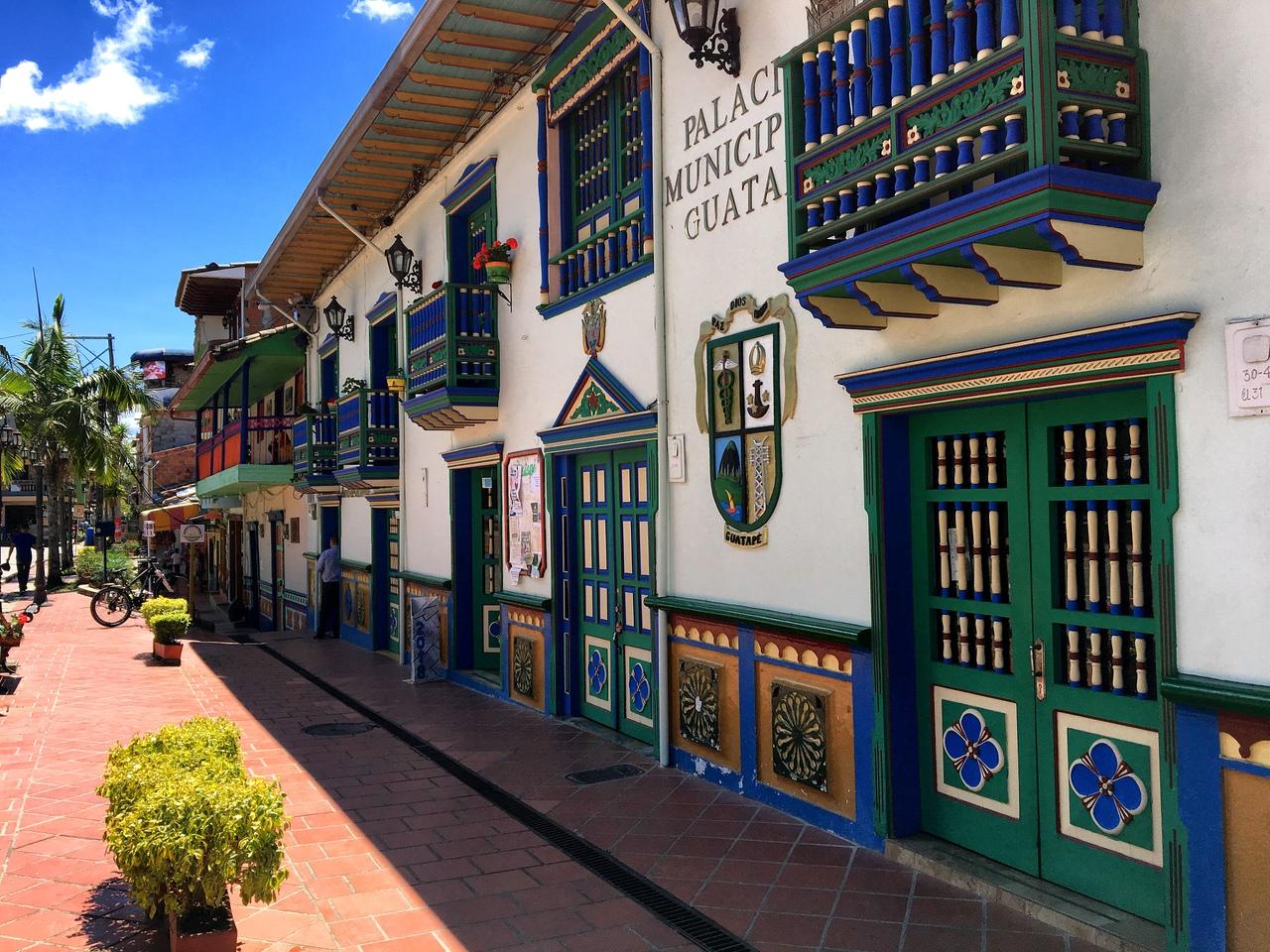 улочки Гуатапе