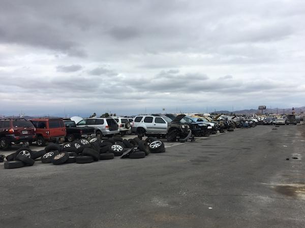 Junk Yard в Лас-Вегасе