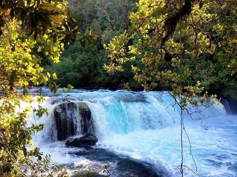 Водопад Sendero de los Espiritus