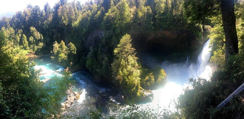 водопад Huilo-Huilo